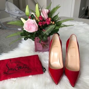 Brand new So Kate 120mm Red patent leather size 8B